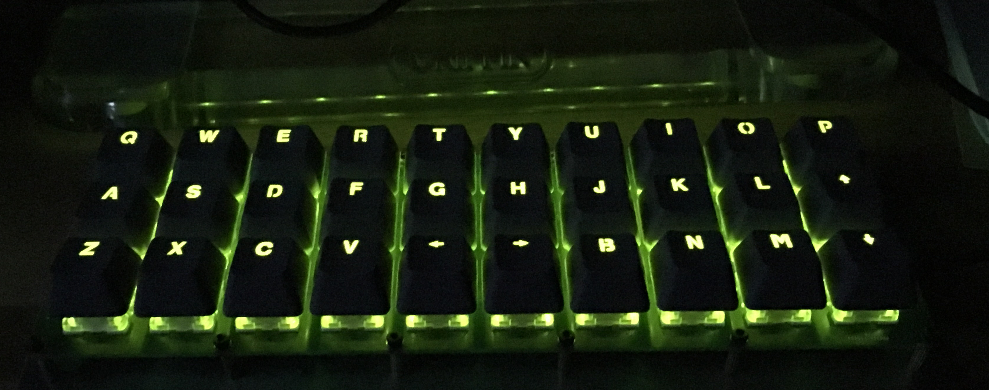 Gherkin with backlight